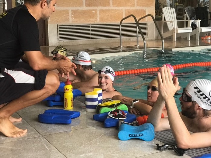 Jorge Sports Schwimmtraining